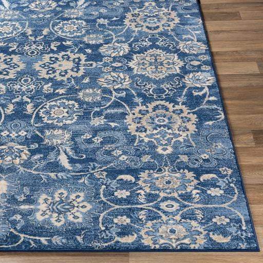 Monaco Rug Collection: Multiple Sizes & Runner (Blue) - Parker Gwen