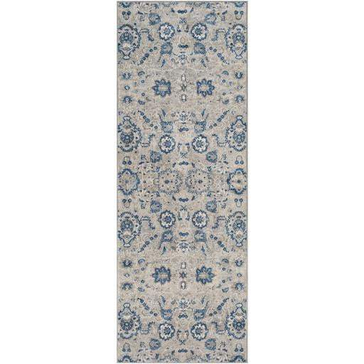 Monaco Rug Collection: Multiple Sizes & Runner (Gray) - Parker Gwen