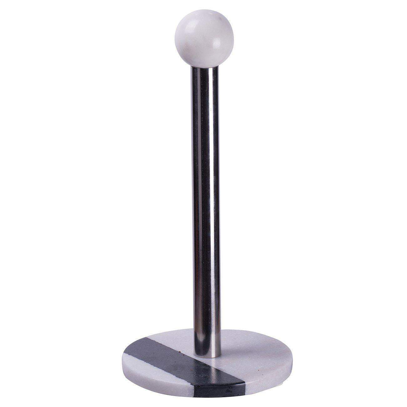 Monochrome Marble Paper Towel Holder-Kitchen Accessories-Parker Gwen