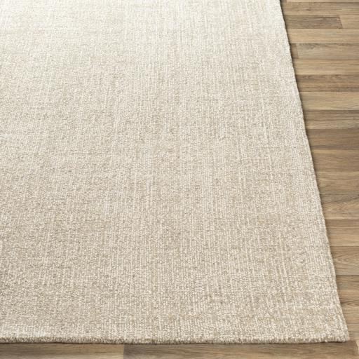 Juliette Recycled Hand Tufted Rug Collection - Multiple Sizes (Ivory) | Indoor | parker-gwen