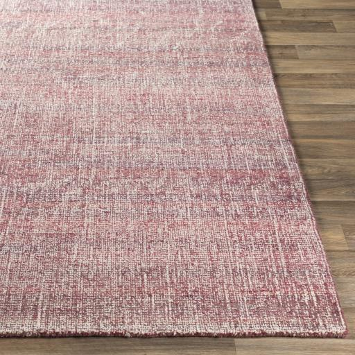 Juliette Recycled Hand Tufted Rug Collection - Multiple Sizes (Rose) | Indoor | parker-gwen