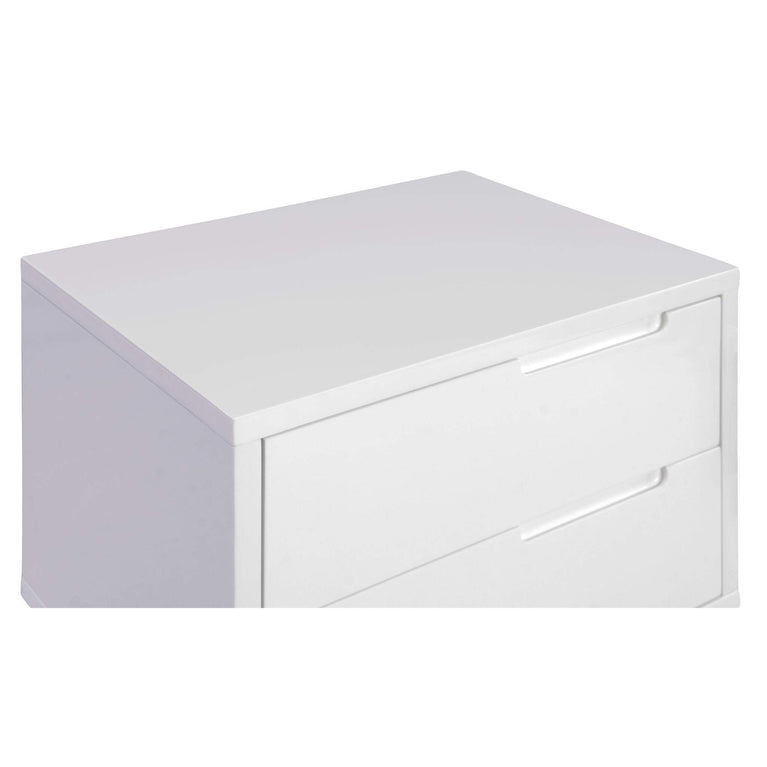Naples Side Table (White) - Parker Gwen