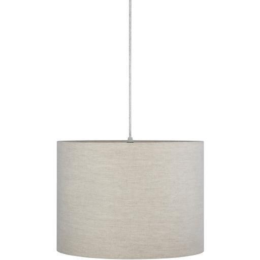 Camille Off-White Natural Finish Powder Coated Chandelier