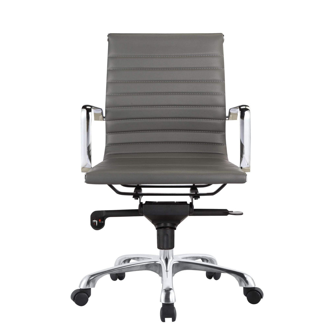 Omega Low Back Office Chair (Grey) - Parker Gwen