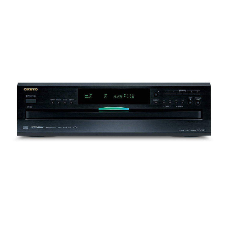 Onkyo 6-Disc Carousel CD Player (DX-390)-CD Player-Parker Gwen