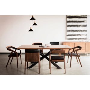 "Oslo 79"" Walnut Dining Table 