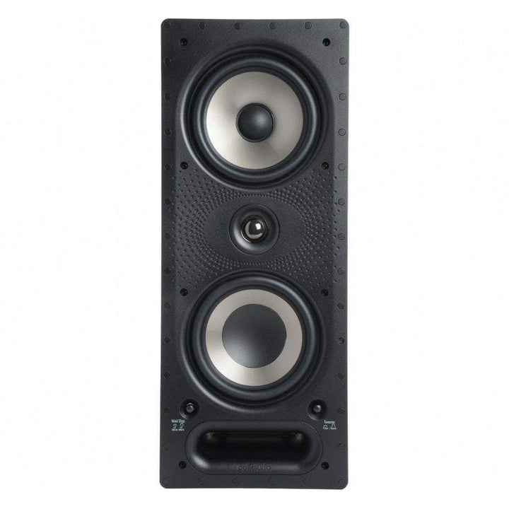 "Polk Audio 6.5"" Vanishing Series In-Wall Loudspeaker (265-RT)-In-Wall Speaker-Parker Gwen"