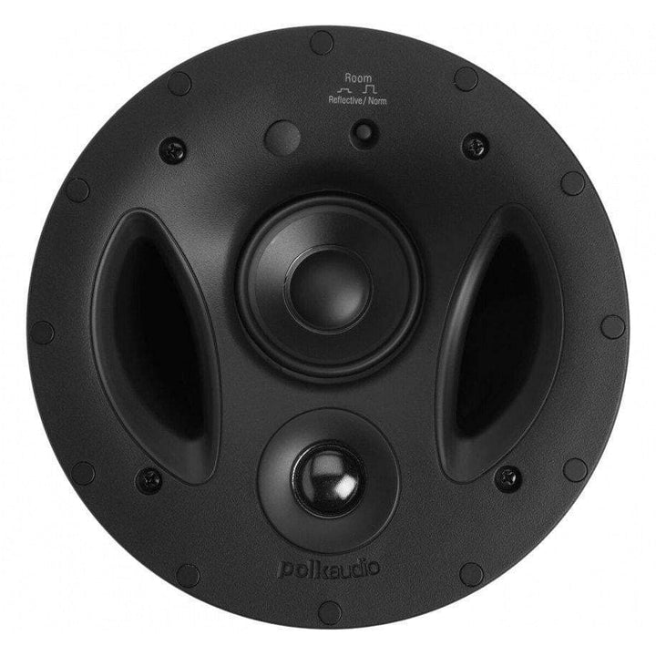 "Polk Audio 7"" Vanishing RT Series In Ceiling Three-Way Speaker (70-RT)-In-Wall Speaker-Parker Gwen"