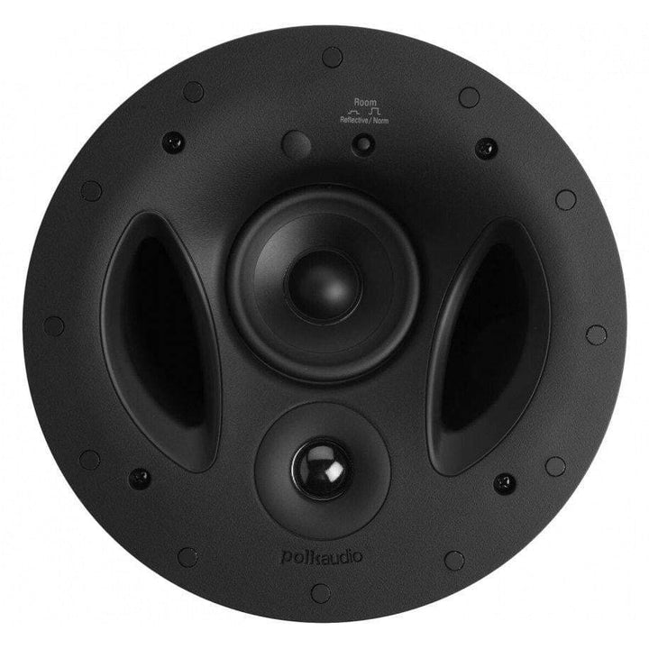 "Polk Audio 9"" Vanishing RT Series In Ceiling Loudspeaker (90-RT)-In-Wall Speaker-Parker Gwen"