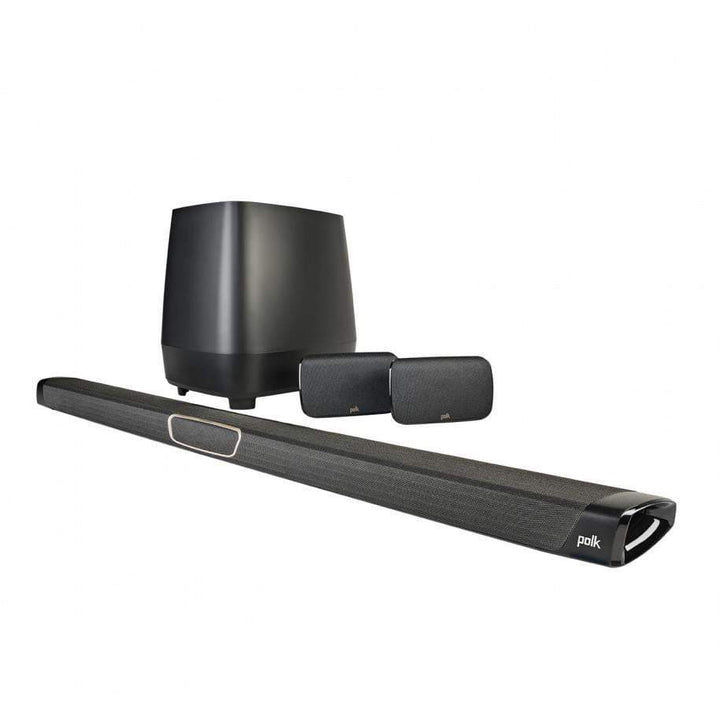 Polk MagniFi MAX SR Maximum-Performance True 5.1 Home Theater Sound Bar and Wireless Rear Surround Sound System-Soundbar-Parker Gwen