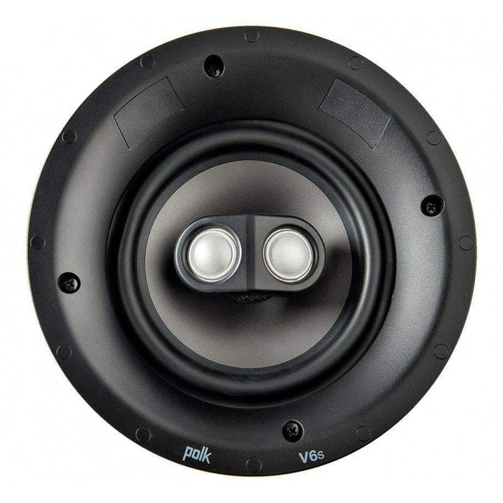 Polk V6s Vanishing Switchable Stereo and Surround Sound In-Ceiling Speaker-In-Wall Speaker-Parker Gwen