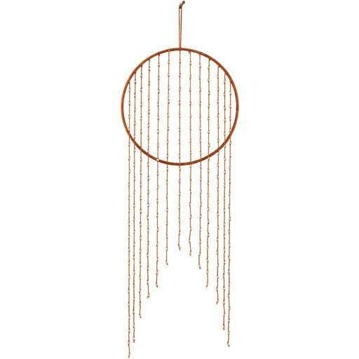 "Ponti 12"" x 30"" Hanging Wall Art (Burnt Orange) - Parker Gwen"