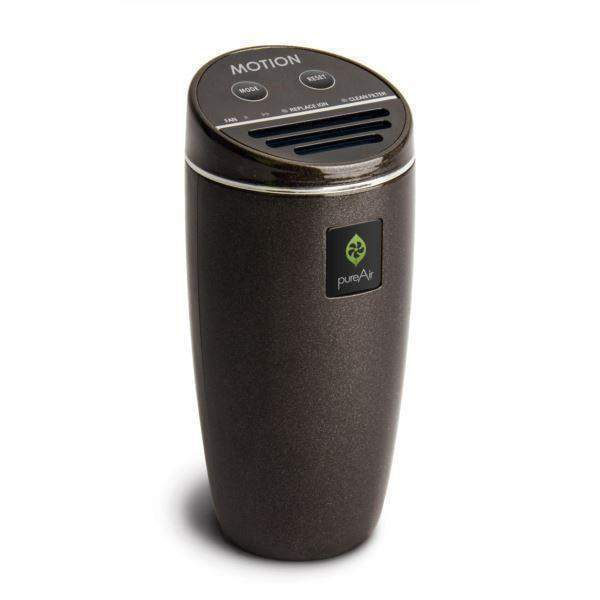 PureAir Motion Car Air Purifier - Black Pearl-Air Purifier-Parker Gwen