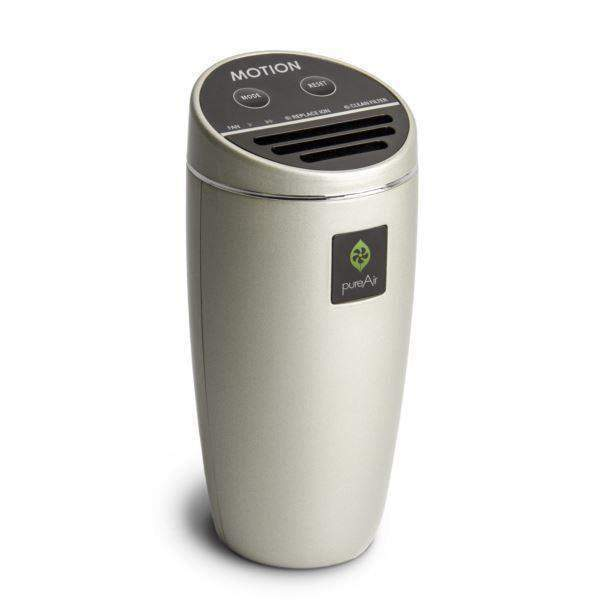 PureAir Motion Car Air Purifier - Champagne - Parker Gwen