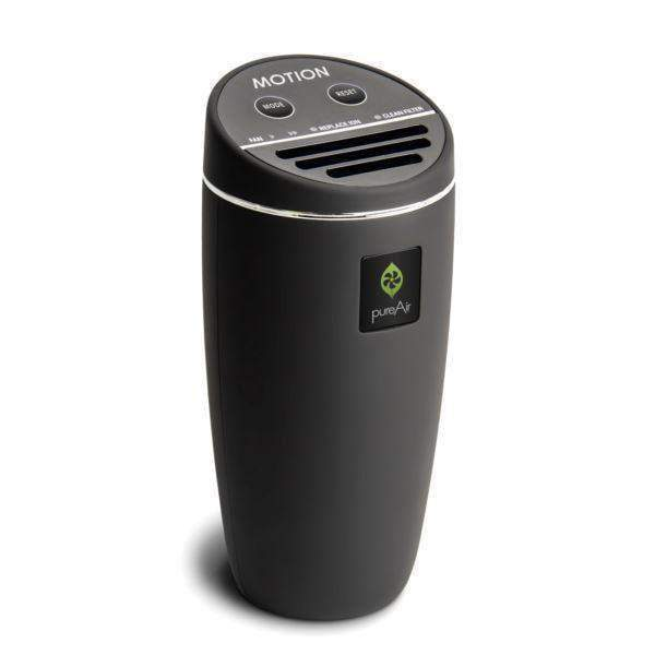 PureAir Motion Car Air Purifier - Rubberized-Air Purifier-Parker Gwen