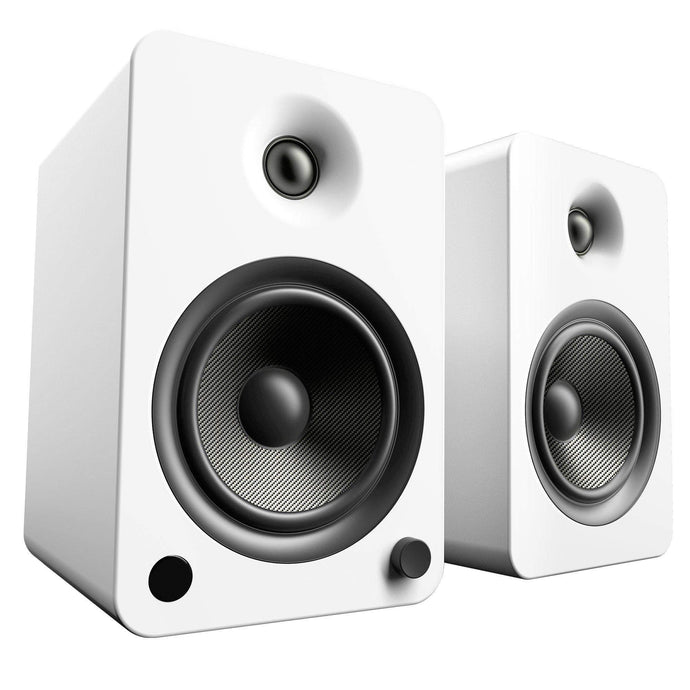 Kanto YU6 Powered Speakers with Bluetooth® and Phono Preamp (Matte White)