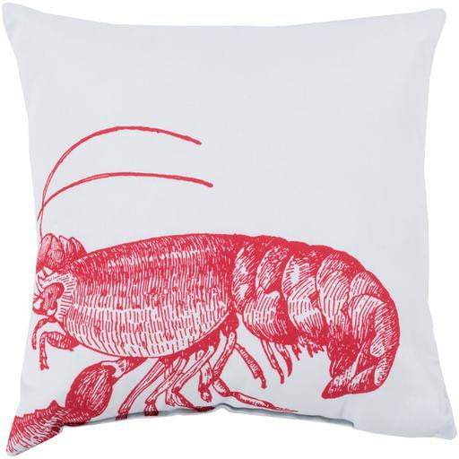 "Rain 18"", 20"" and 26"" Throw Pillow: Red - Parker Gwen"