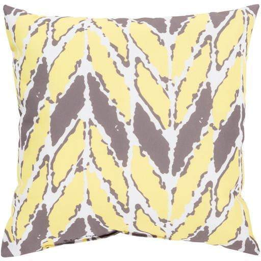 Rain Throw Pillow: Butter - Parker Gwen