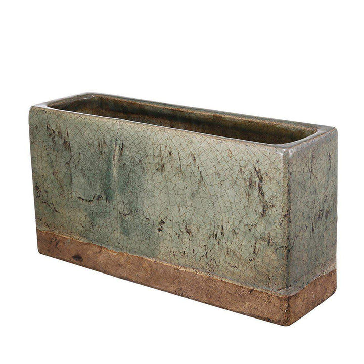 Rectangular Ceramic Planter - Parker Gwen