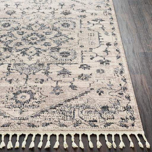 Restoration Bohemian Rug Collection - Multiple Sizes & Runners (Taupe)-Indoor-Parker Gwen