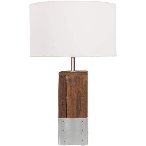 Restoration Table Lamp: White-Table Lamp-Parker Gwen