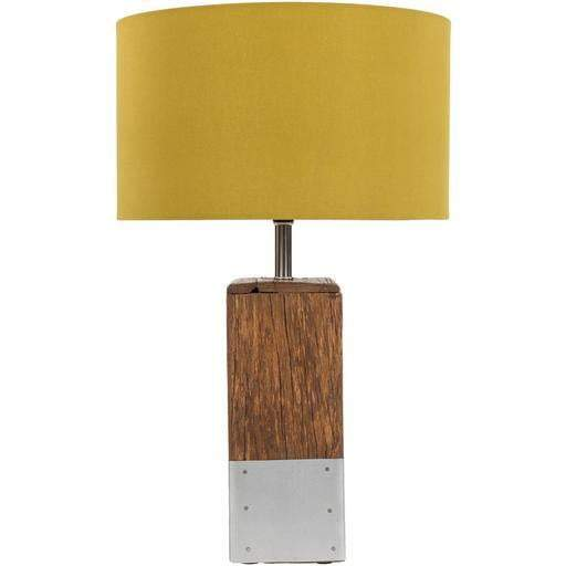 Restoration Table Lamp: Yellow-Table Lamp-Parker Gwen