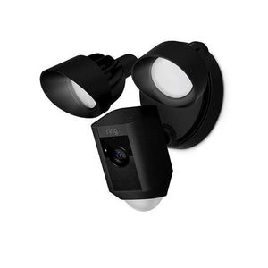 Ring Floodlight Motion Activated Camera (Available in Black or White) - Parker Gwen