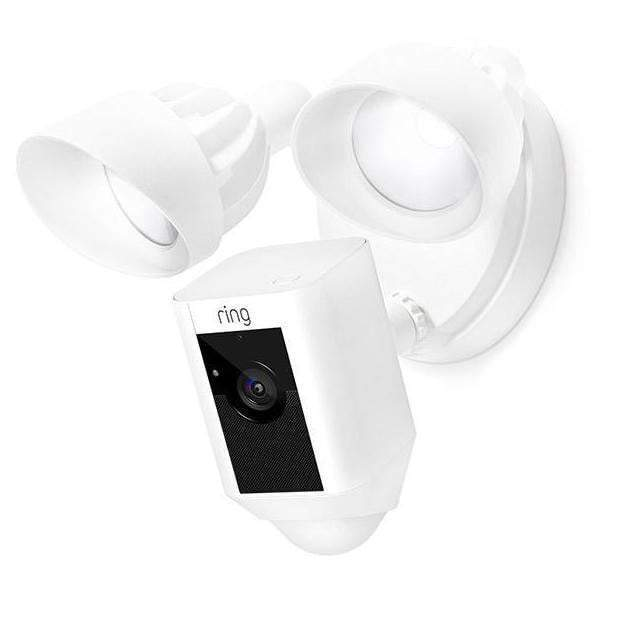 Ring Floodlight Cam (Available in Black or White)-Security Camera-Parker Gwen