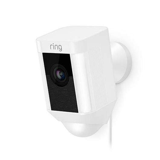 Ring Spotlight Cam Wired (Available in Black or White)-Security Camera-Parker Gwen
