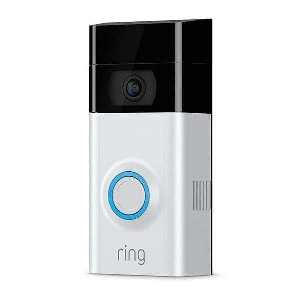 Ring Video Doorbell 2 (Two Interchangeable Faceplates)-Security Camera-Parker Gwen