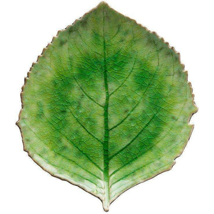 RIVIERA COLLECTION HYDRANGEA LEAF PLATE (SET OF 6): Tomate-Plate-Parker Gwen