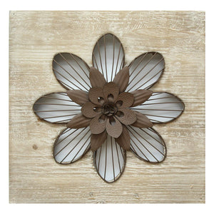 Rustic Flower Wall Décor-Wall Accent-Parker Gwen
