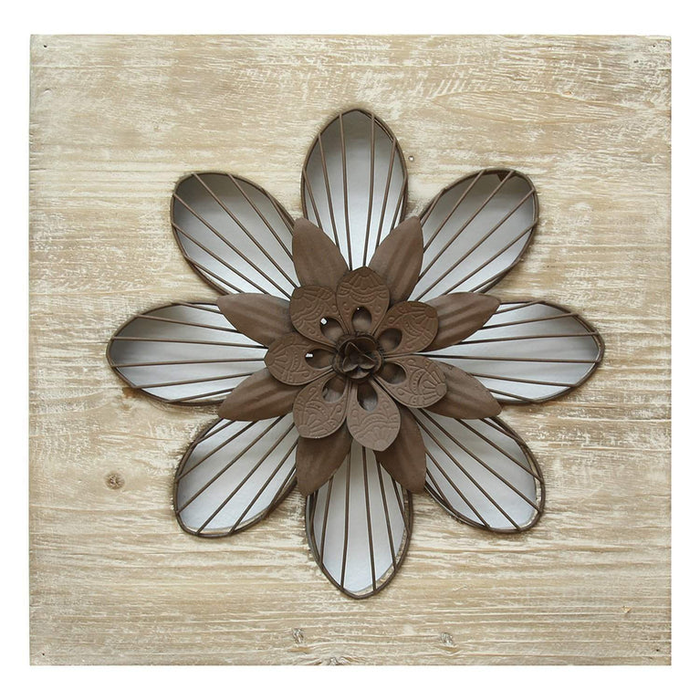 Rustic Flower Wall Décor - Parker Gwen