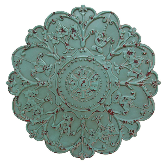 Shabby Medallion Wall Décor - Parker Gwen