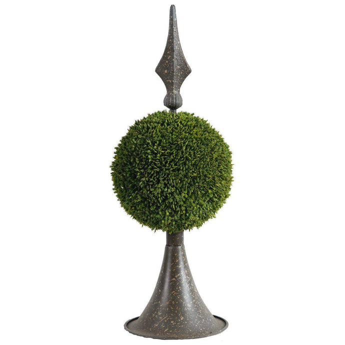 Spired Sphere Boxwood Topiary: 17