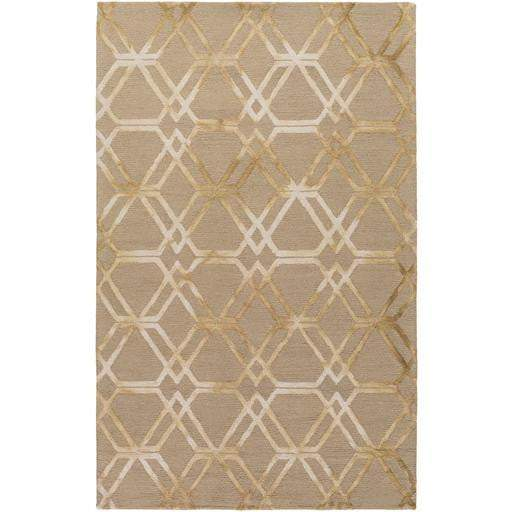 Serafina Hand Hooked Wool Rug Collection - Multiple Sizes & Runner (Brown) - Parker Gwen
