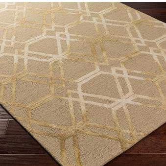 Serafina Hand Hooked Wool Rug Collection - Multiple Sizes & Runner (Brown)-Indoor-Parker Gwen
