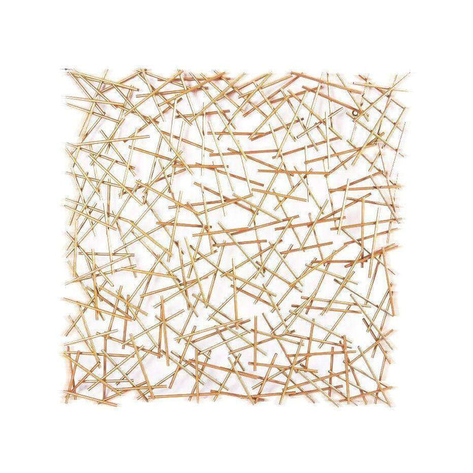 STIX Gold WALL Decor | Wall Accent | parker-gwen
