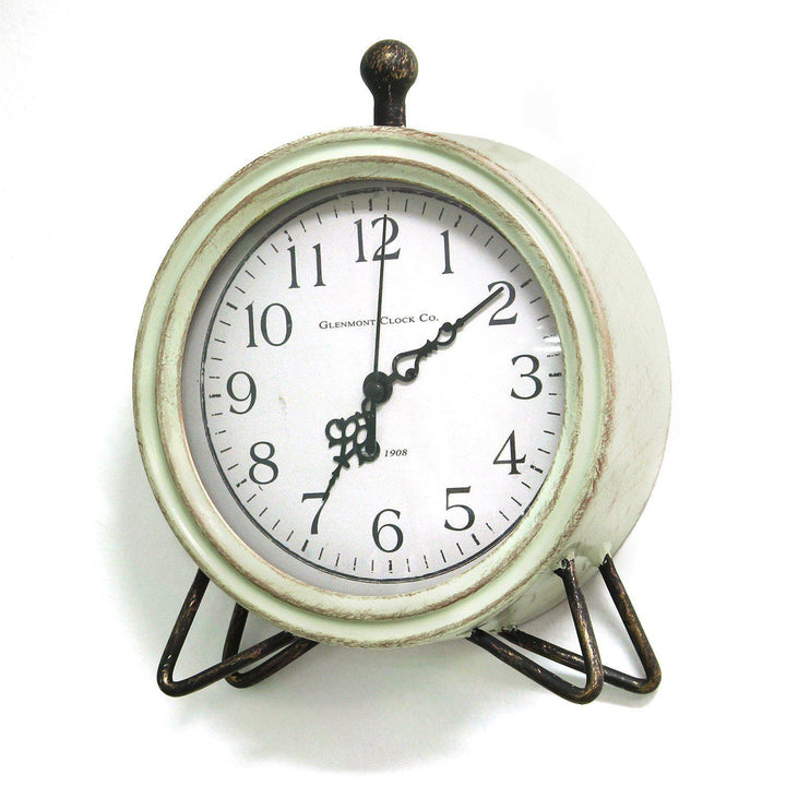 Stratton Home Decor Oliver Table Top Clock | Table Clock | parker-gwen