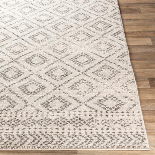 Sunderland Rug Collection: 3 Sizes (Light Gray) | Indoor | parker-gwen