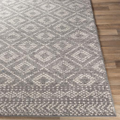 Sunderland Rug Collection: 3 Sizes (Gray) | Indoor | parker-gwen