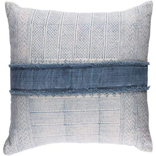 "Lola Pillow: 30"" x 30"" Pale Blue - Parker Gwen"
