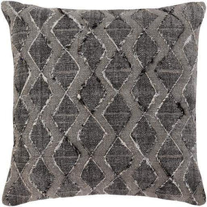 "Peya Throw Pillow: 20"" (Grey) - Parker Gwen"