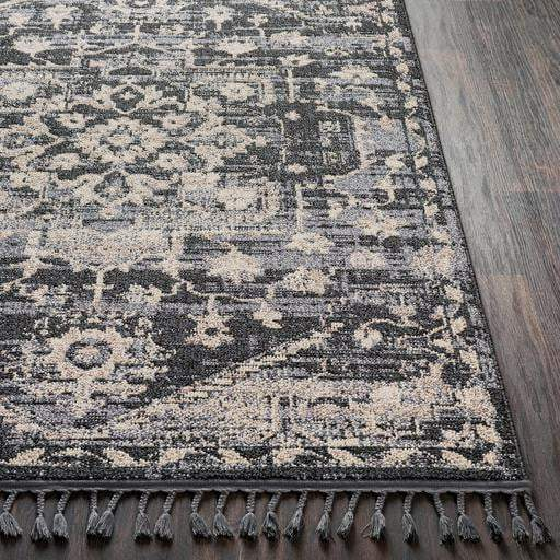 Restoration Bohemian Rug Collection - Multiple Sizes & Runners (Gray) - Parker Gwen