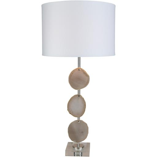 Winston Sliced Agates Table Lamp | Table Lamp | parker-gwen