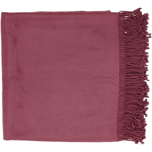 "Tian Tian Bamboo Woven Throw Blanket 50"" x 67"" (Purple) 