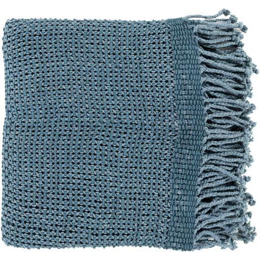 Tibey Woven Cotton Throw Blanket 50