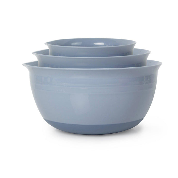 Totally Sweet Nonslip Mixing Bowl Set of 3 (Blue) | Mixing & Measurement | parker-gwen
