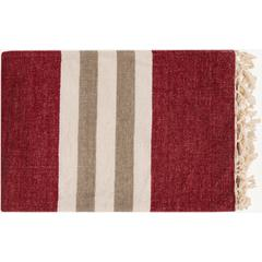 Troy 100% Chenille Cotton Throw Blanket 50