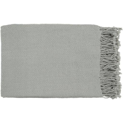 "Turner Woven Throw Blanket 50"" x 60"" (Grey)-Throw-Parker Gwen"